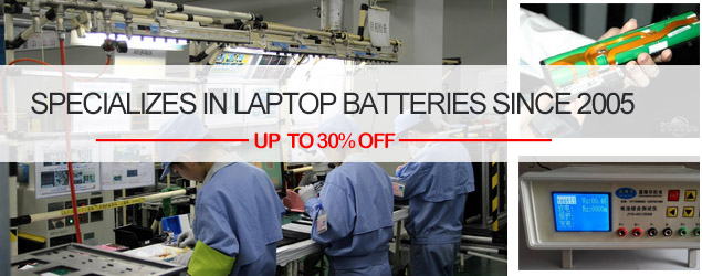 specializes in laptop batteries
