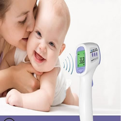 Non-Contact Wireless Laser Forehead Infrared IR Body Thermometer TS-6608
