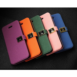 New   Luxury Stand Flip British Style Imitation leather Phone case for   Iphone5