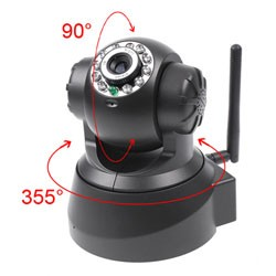 Wireless IP   Webcam Camera Night Vision 11 LED WIFI Cam