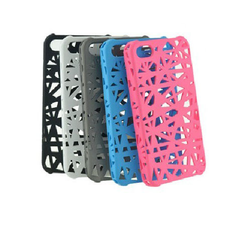 Hollow Bird Nest Ventilation Cooling Case Cover for Iphone5