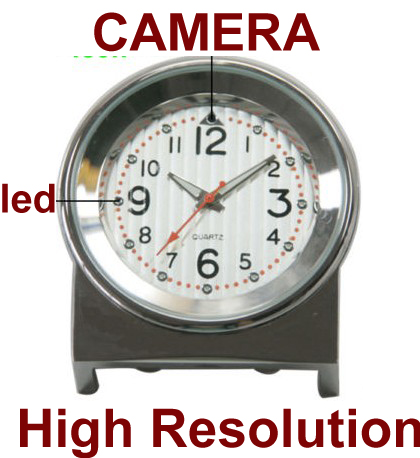 8GB 1280*960pixels Spy Mini Desk Camera Clock DVR Watch