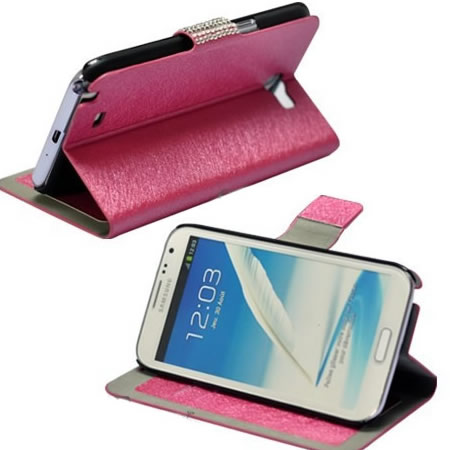 Natural Silk Phone Case Protective Leather Case for Galaxy I9300 NOTE2 N7100  s4 9500 9082 Series