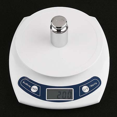 7kg 1g Digital Desktop Scale Postal Shipping Kitchen
