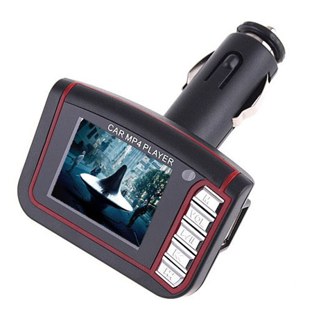LCD Car MP3/MP4 Player FM Transmitter w/Remote Control
