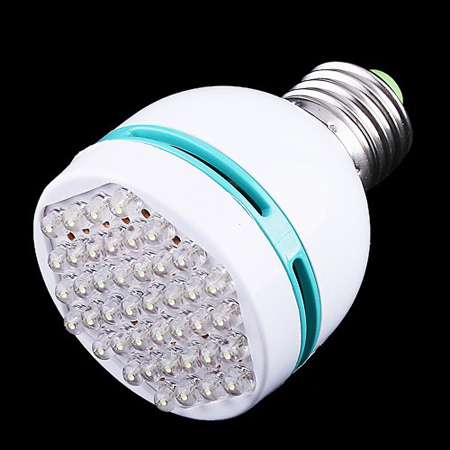42 LED Light E27 Screw Head Bulb 3W Energy Saving Lamp White H1958