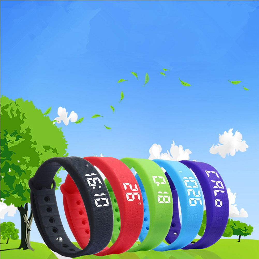 Fitness Band Activity Tracker Children Watch Bracelet Kid Pedometer