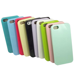 Fashion Soft TPU Gel Rubber Back Case Cover Skin For Apple iPhone 5 5G N#729