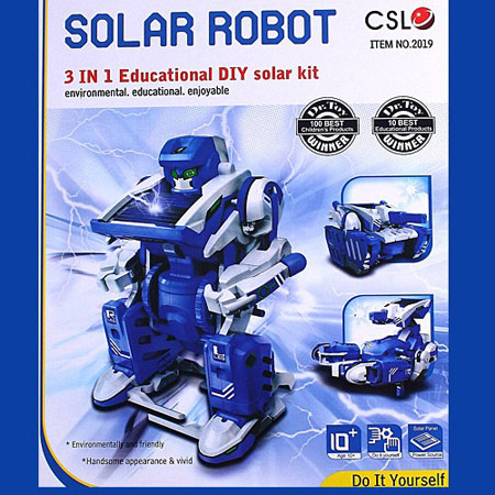 Educational DIY Solar Toy Robot Tank Scorption Gifts