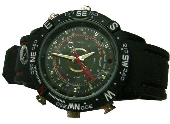 8GB Spy Watch Camera WaterProof Hidden Recorder DVR W01