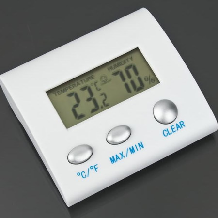 LCD Digital Indoor Thermometer Hygrometer Humidity Meter TL8025 Gauge