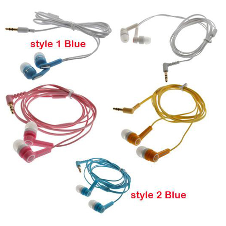Trendy stylish 3.5mm Earphone Headphone Earbud Headset for iPhone 4 3G 4S MP4