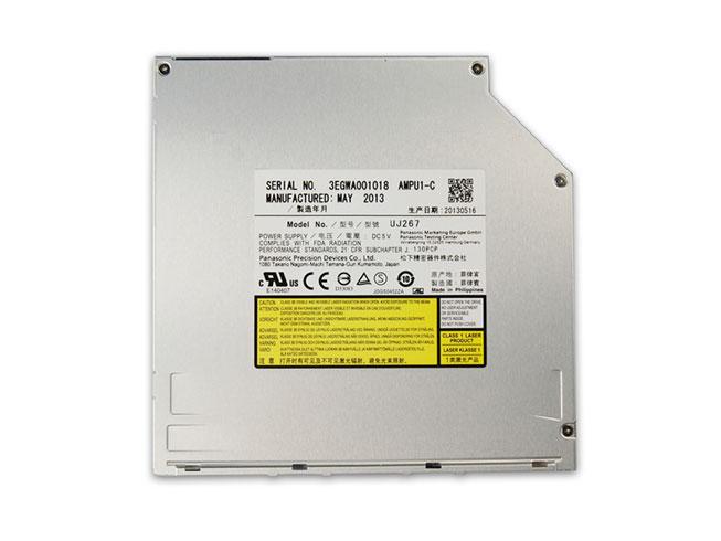 6X 3D For Apple Macbook Pro Dell Alienware 14 Blu-ray Burner Slot-in Drive UJ267