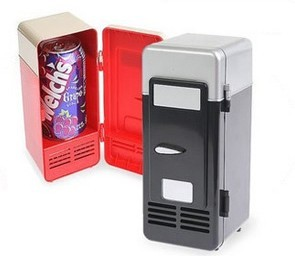 New Mini USB PC Fridge Beverage   Drink Cans Cooler/Warmer