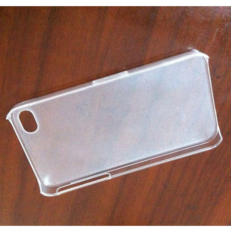 Ultra-thin Matte Transparent   Plastic Protective Shell Case for Iphone4 4s