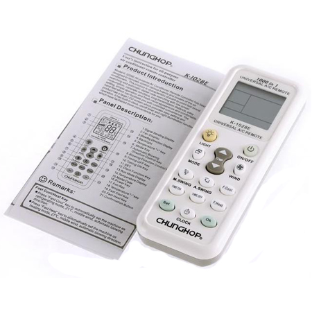 Universal LCD A/C Muli Remote Control for Air Condition