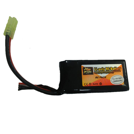 2 X Parrot AR Drone Spare Upgrade Battery 1500mah 11.1V 20C RC Lipo battery