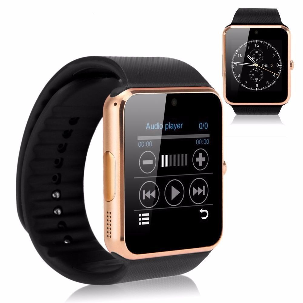 GT08 Bluetooth Smart Watch NFC Wrist Phone Mate For iPhone Andorid