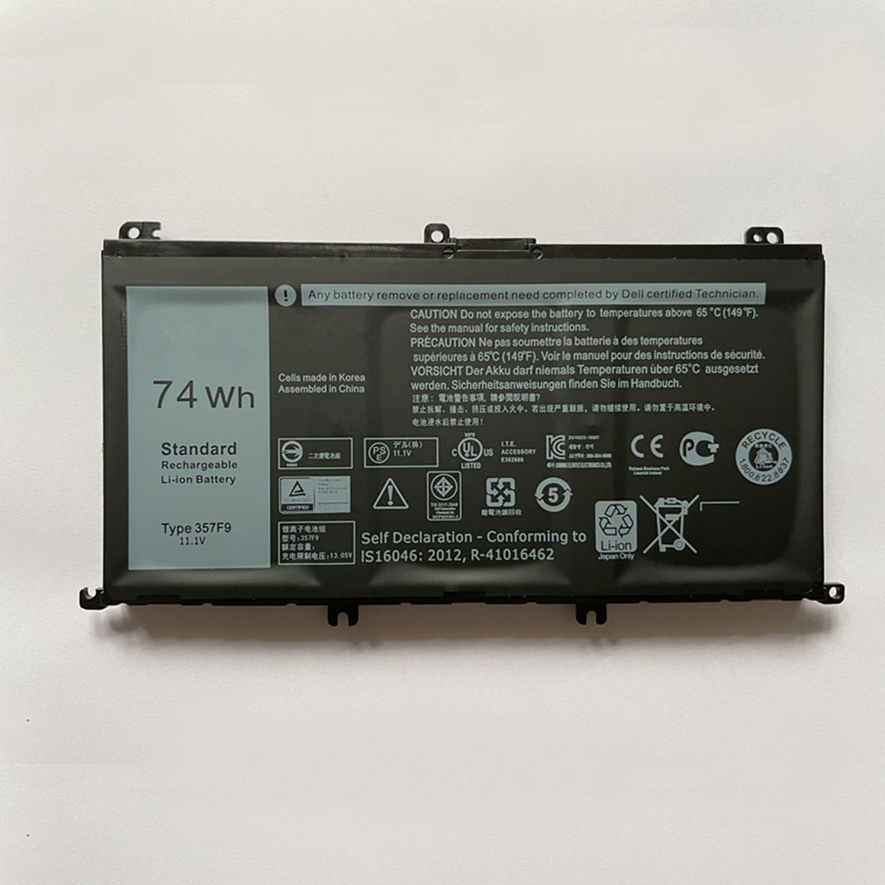 357F9 Replacement laptop Battery