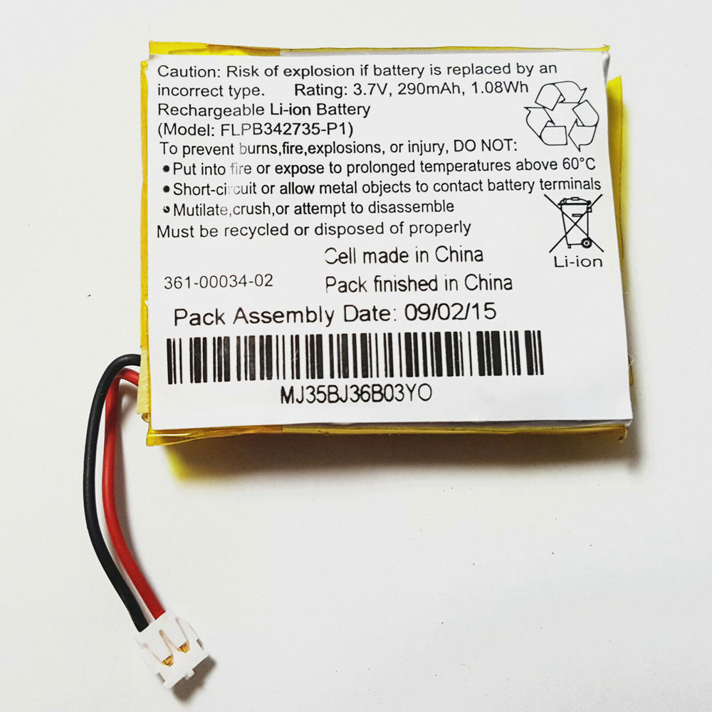 361-00034-02 Replacement laptop Battery