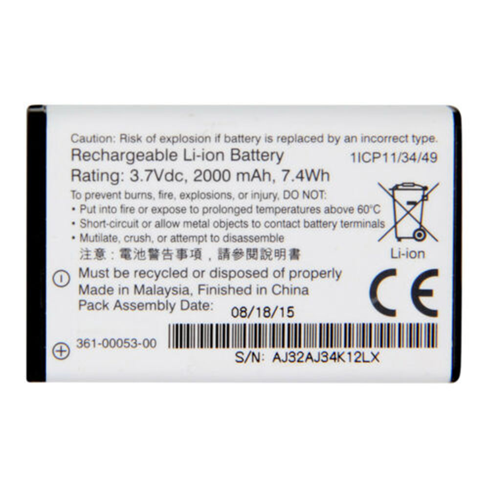 361-00053-00 Replacement laptop Battery