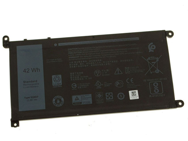 51KD7 Replacement laptop Battery