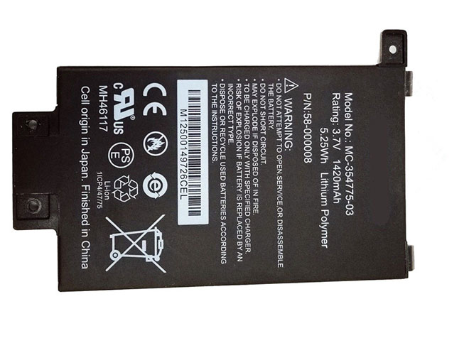 MC-354775-03 Replacement  Battery
