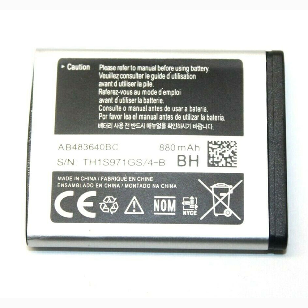 replace AB483640BC battery