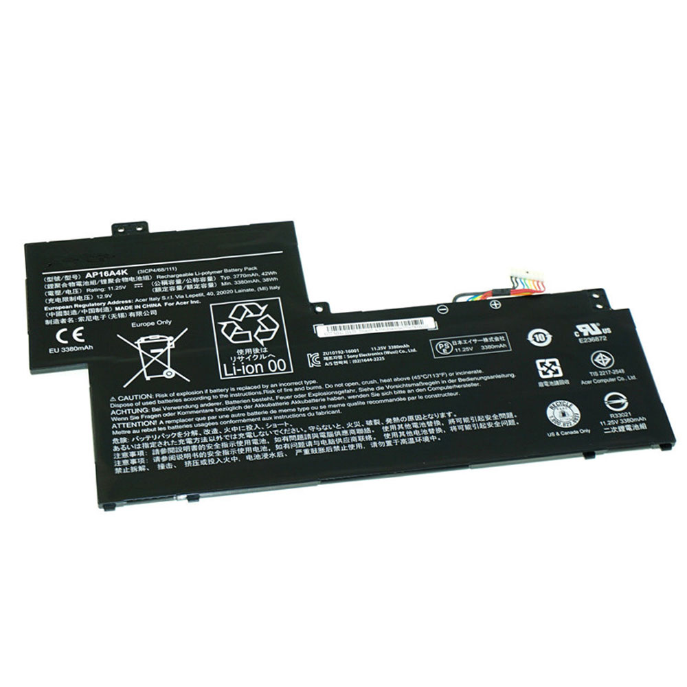 AP16A4K Replacement laptop Battery