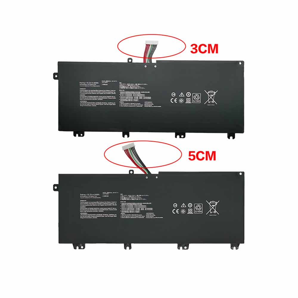 B41N1711 Replacement laptop Battery