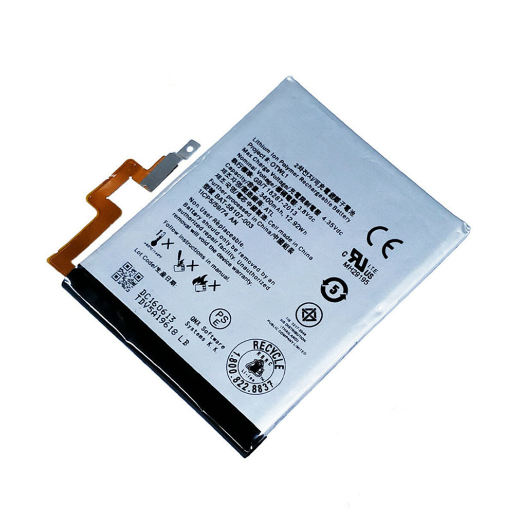 BAT-58107-003 Replacement  Battery