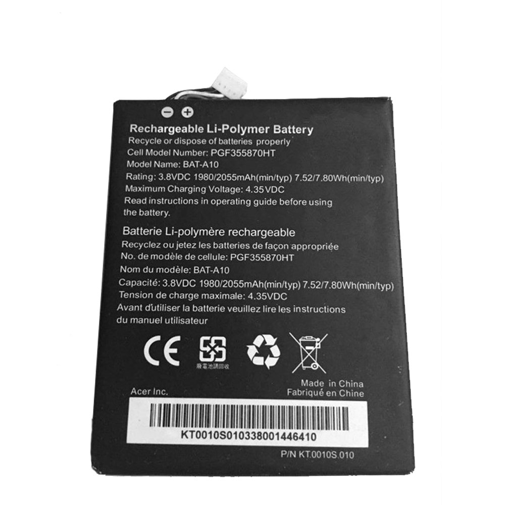 BAT-A10 Replacement  Battery
