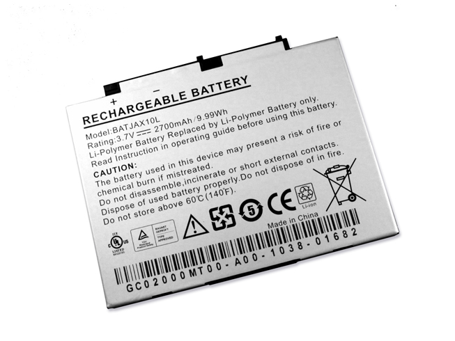 BATJAX10L Replacement  Battery