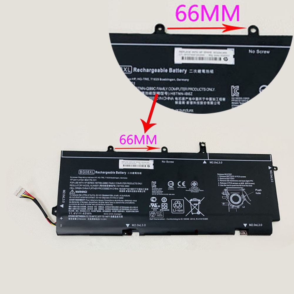 BG06XL Replacement laptop Battery