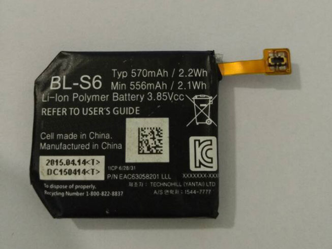 BL-S6 Replacement laptop Battery