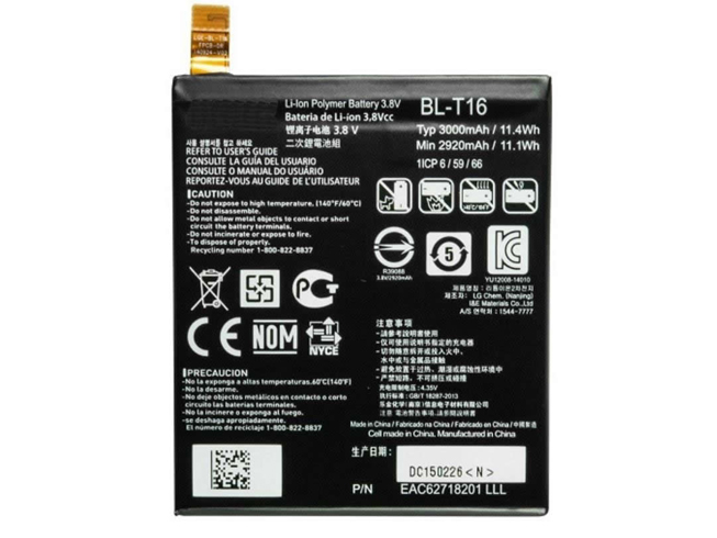 BL-T16 Replacement  Battery