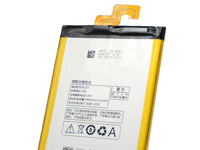 replace BL223 battery