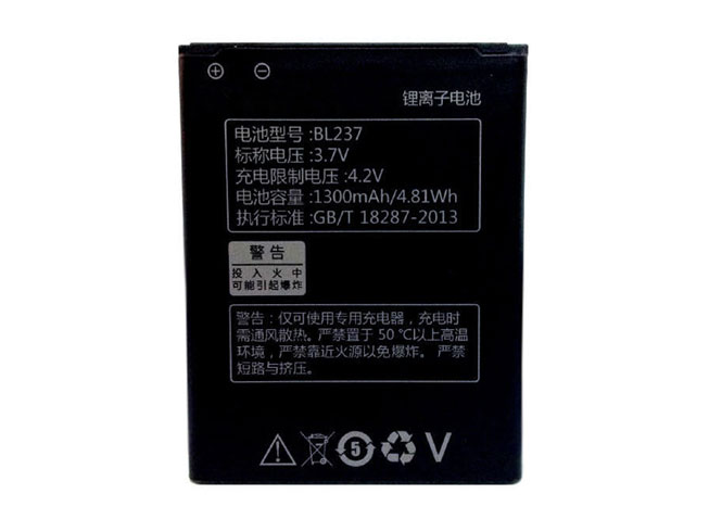 replace BL237 battery