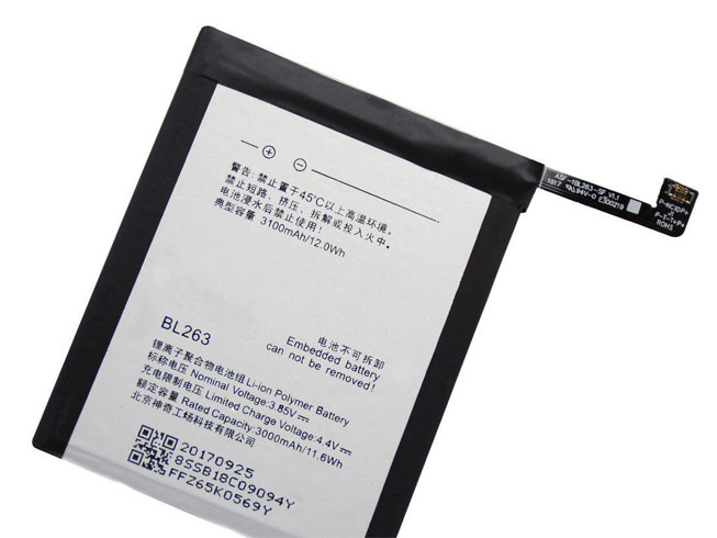 BL263 Replacement  Battery