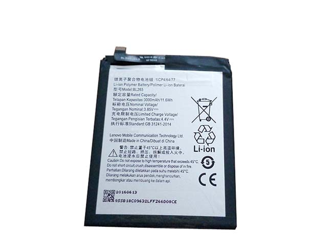 BL265 Replacement  Battery