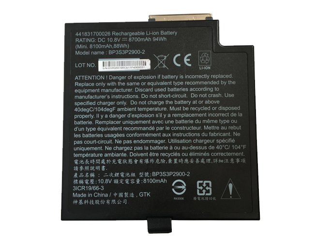 BP3S3P2900-2 Replacement laptop Battery