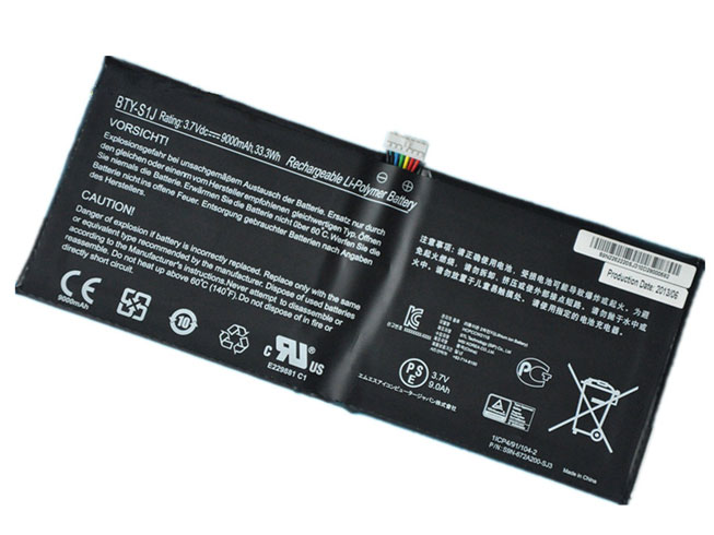replace BTY-S1J battery
