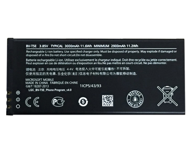 replace BV-T5E battery