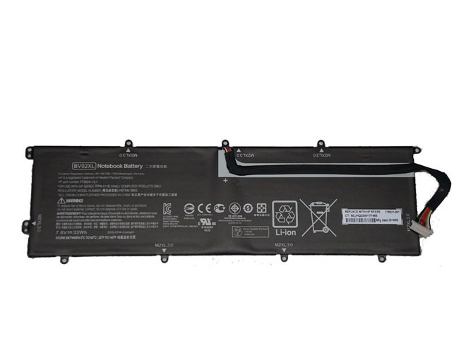 BV02XL Replacement  Battery