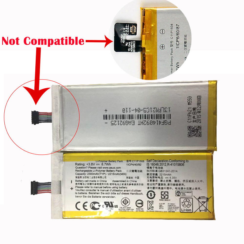 replace C11P1508 battery