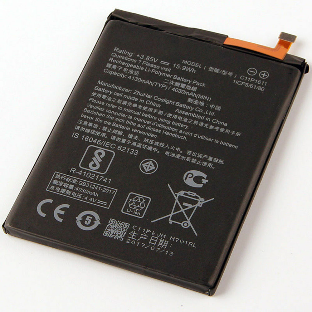 replace C11P1611 battery