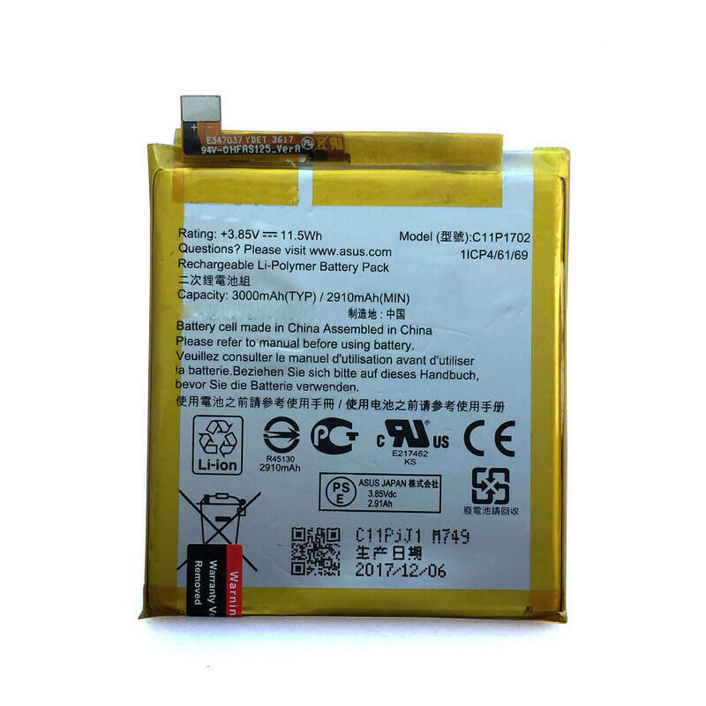 replace C11P1702 battery