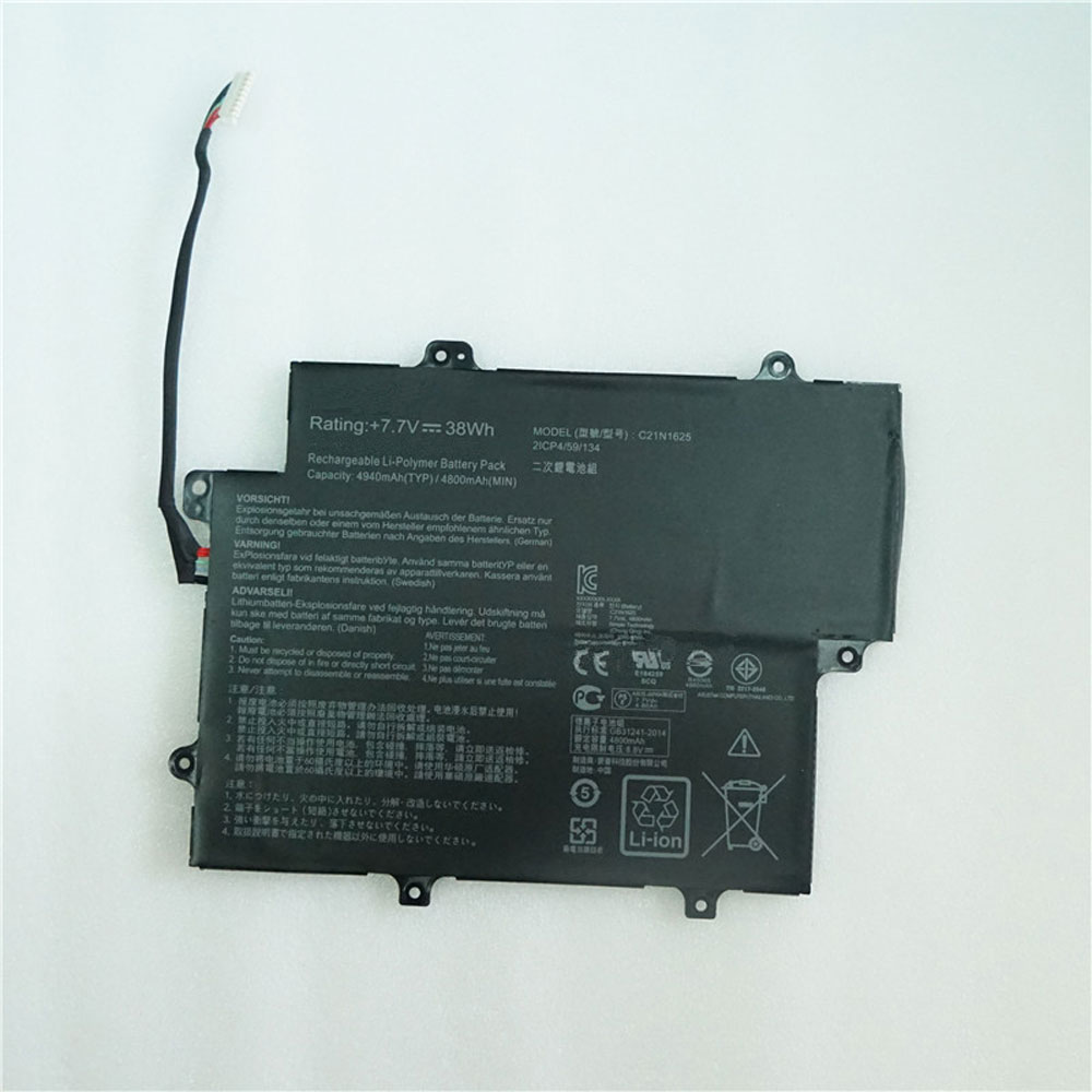 C21N1625 Replacement laptop Battery