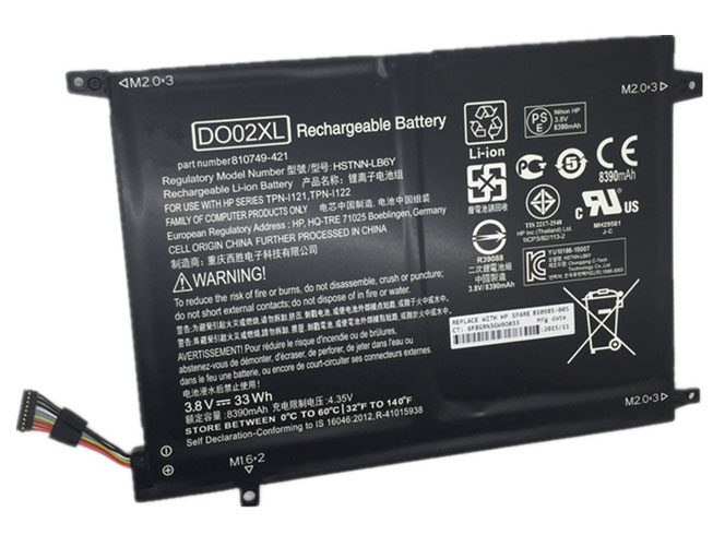 DO02XL Replacement laptop Battery