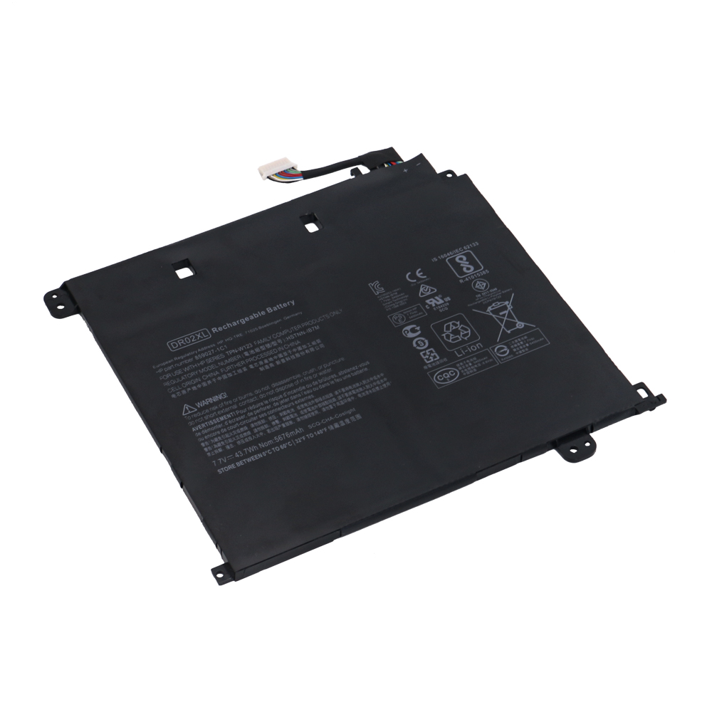 replace DR02XL battery